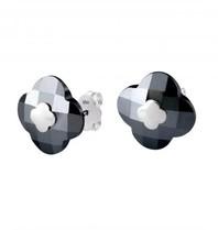 Morganne Bello earrings hematite