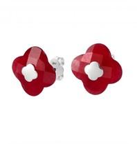Morganne Bello earrings red quartz