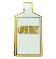 Godert.me Gin bottle pin gold