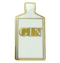 Godert.me Gin bottle pin goud