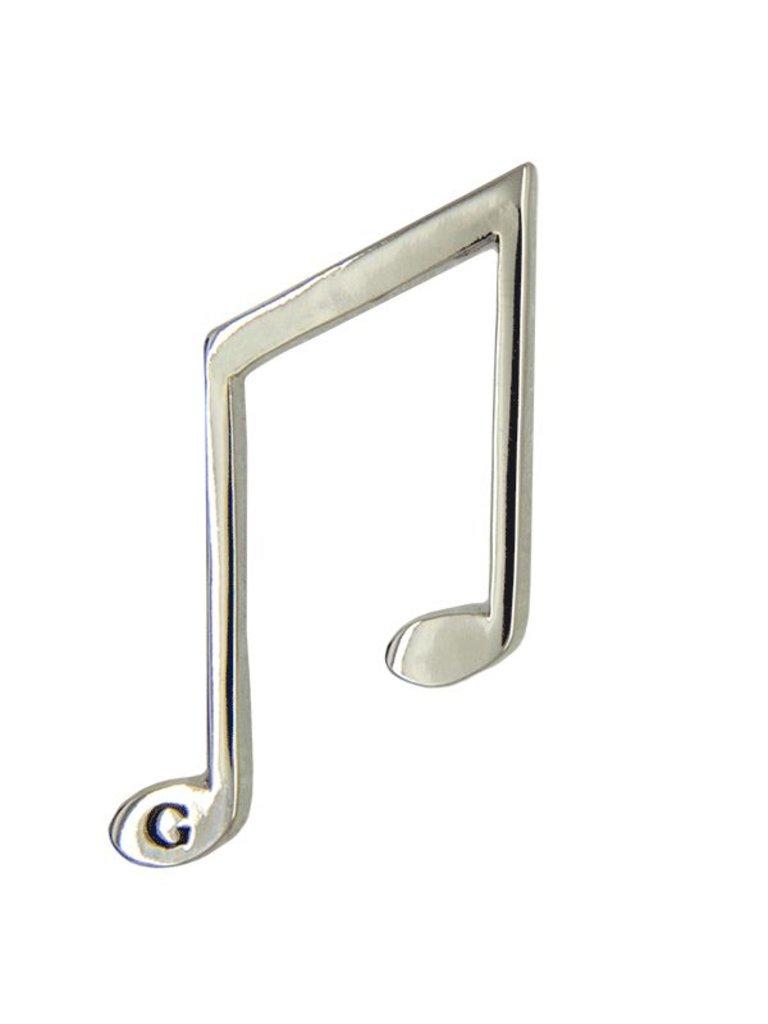Godert.me Music note Stift Silber