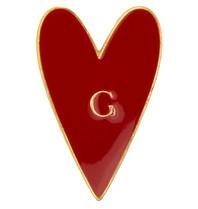 Godert.me Heart pin rood