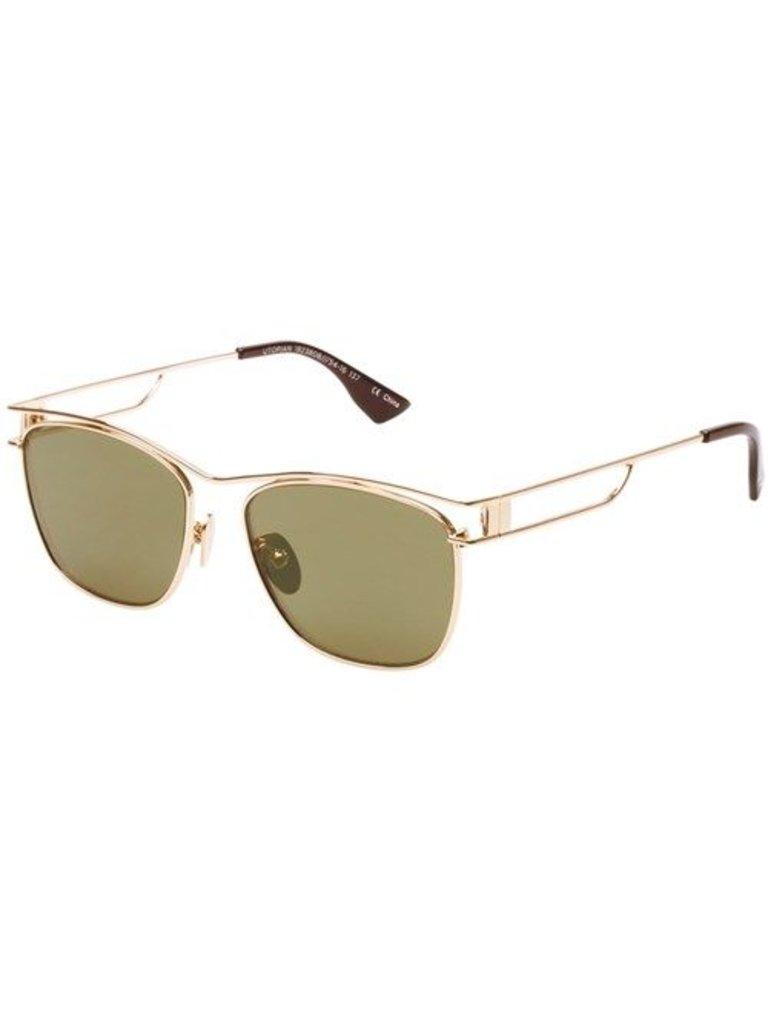 Le Specs Luxe Utopian zonnebril goud