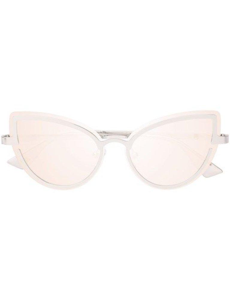 Le Specs Luxe Adulation bril platinum