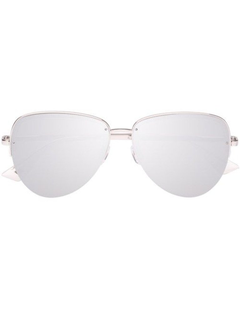 Le Specs Luxe Empress zonnebril platinum
