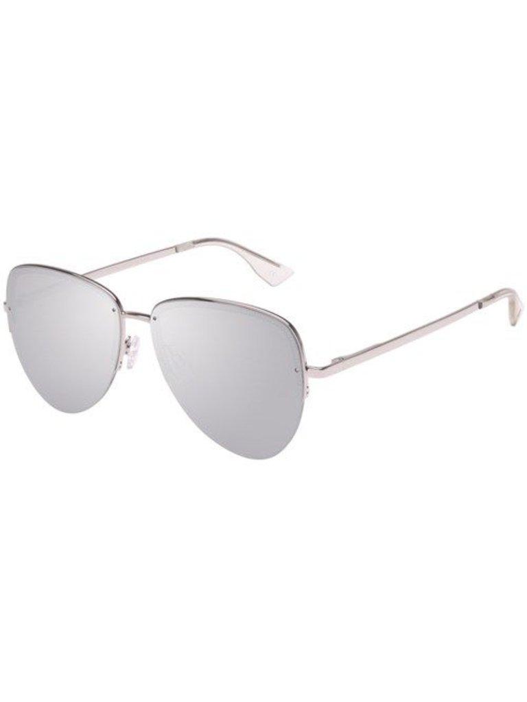 Le Specs Sonnenbrille Luxus Empress Platin
