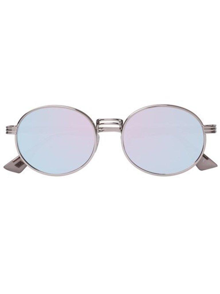 Le Specs Luxe Unpredictable zonnebril platinum