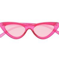 Le Specs x Adam Selman Die letzte Lolita Sonnenbrille rosa