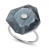 Morganne Bello ring Labradorite