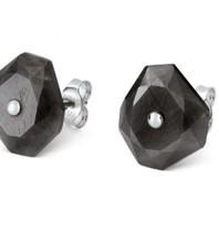 Morganne Bello earrings gray Saphir