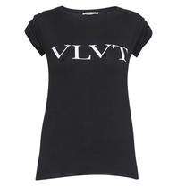 VLVT t-shirt met opdruk zwart wit