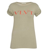 VLVT t-shirt with print green red
