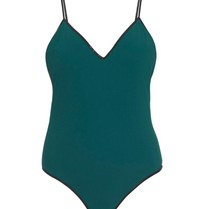 Tooshie Isabella swimsuit dark green slate