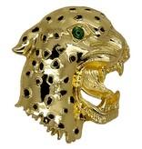 Godert.me Leopard Broch Gold