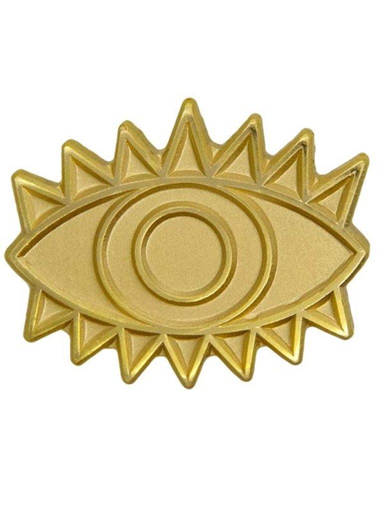 Godert.me Eye pin gold matt