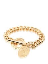 Mini medaillon solochain armband - Goud