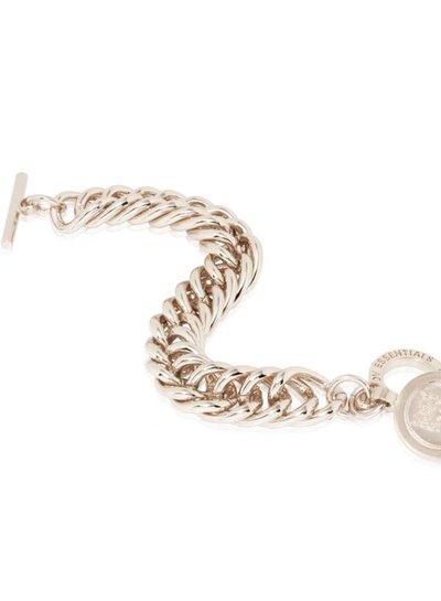 Big mermaid armband - Wit Goud
