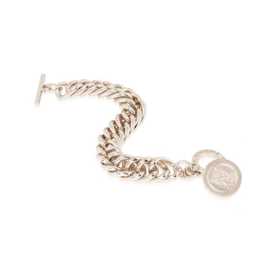 Big mermaid bracelet - White Gold