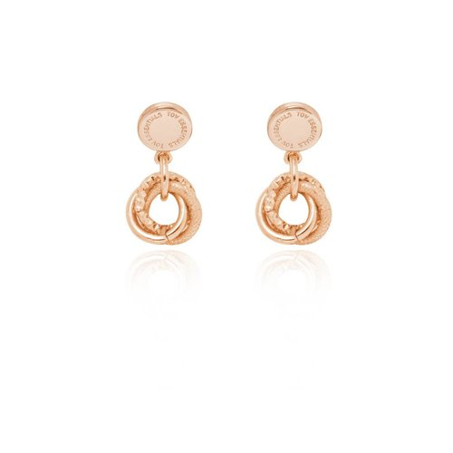 Stud earring - Rose