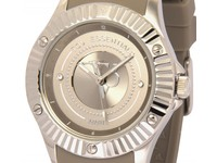 Atlantic adventure taupe/zilver horloge