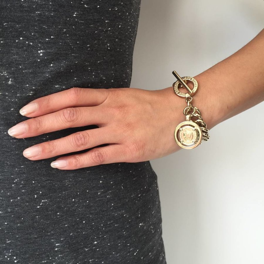 Small mermaid bracelet - Light Gold