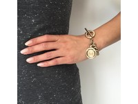 Small mermaid armband - Wit Goud