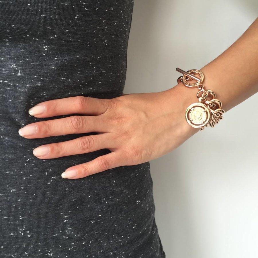 Small solochain bracelet - White Gold