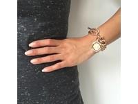 Small solochain bracelet - Rose