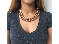 Solochain collier - Rose