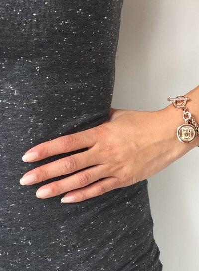 Mini spiga bracelet - Light gold