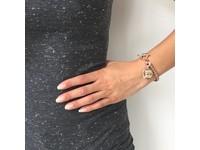 Mini spiga bracelet - White Gold