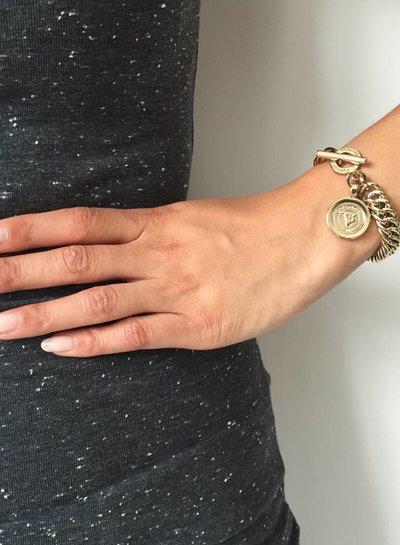 Mini mermaid armband - Goud