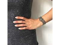 Double chain bracelet - Gold