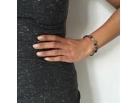 Stone bangle (Armband) - Rose/Gouden Schaduw
