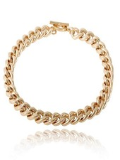 Small flat chain collier - Champagne Goud