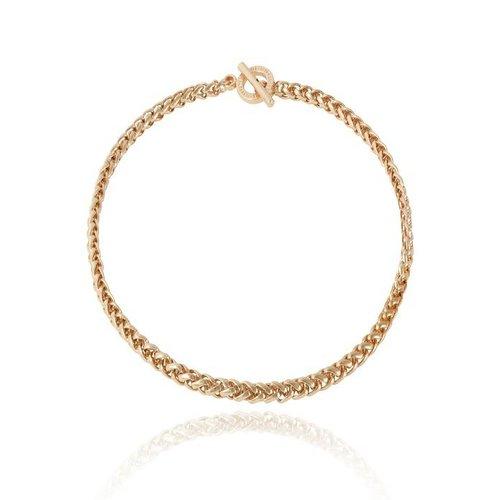 Mini spiga collier - Champagne Gold