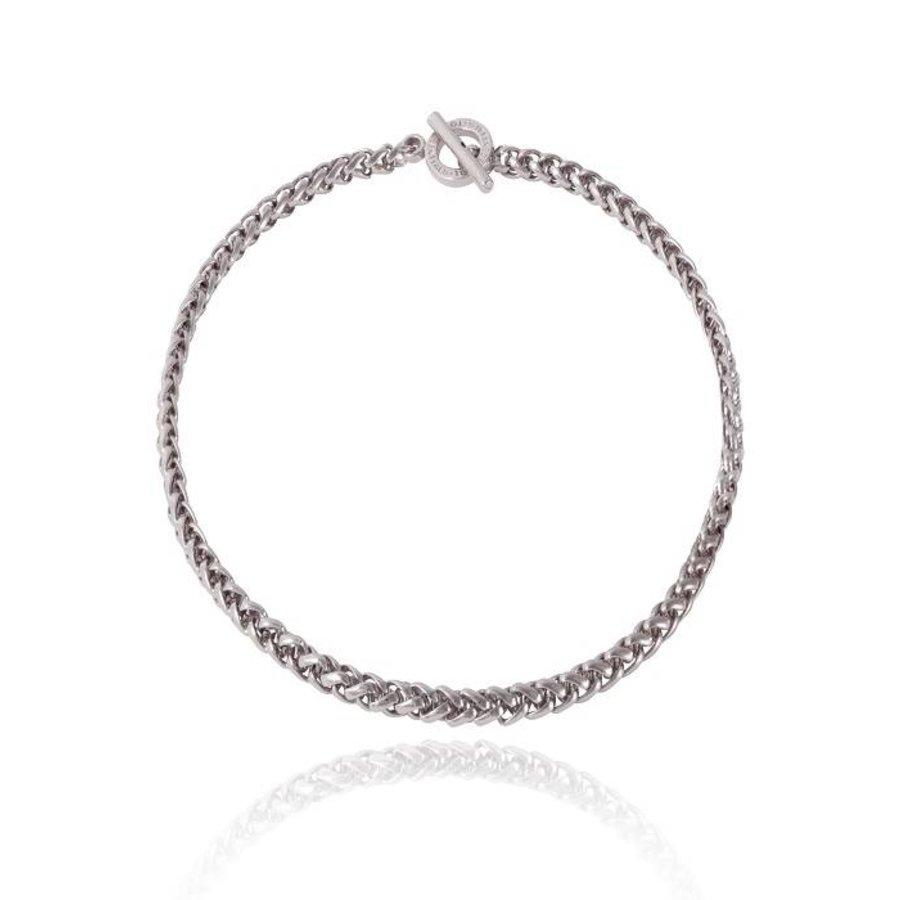Mini spiga collier - White Gold