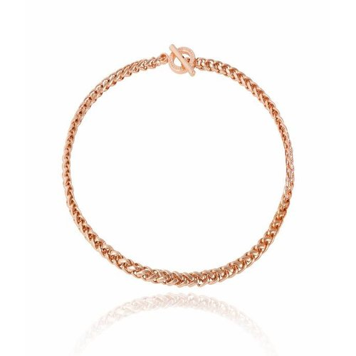 Mini spiga collier - Rose
