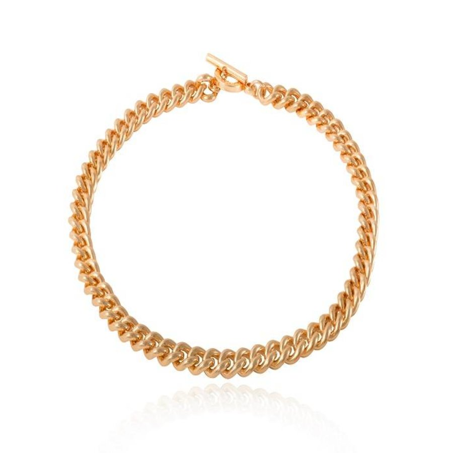 Mini solochain collier - Goud