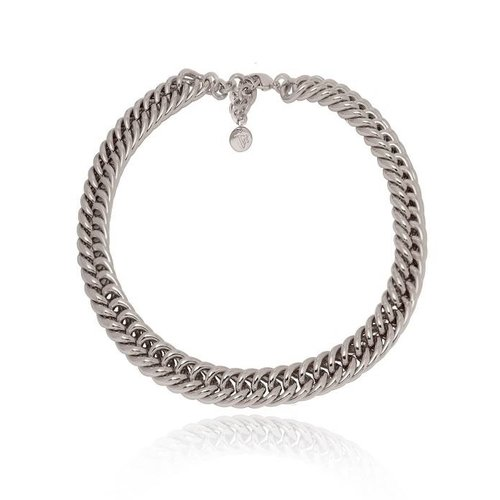 Small mermaid collier - Wit Goud