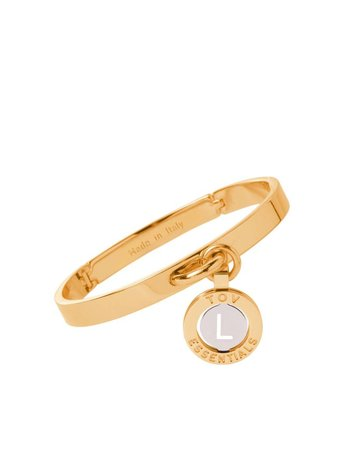 Iniziali bangle 2.0 - Gold/White Gold - Letter L