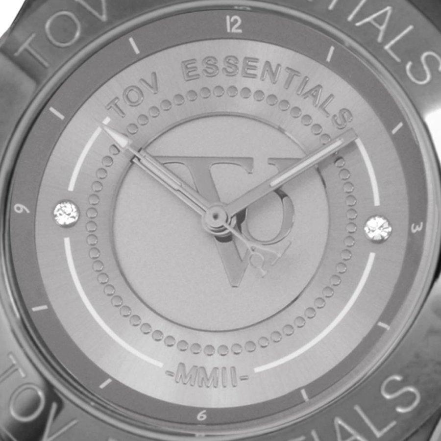 Stormy ocean gun metal horloge