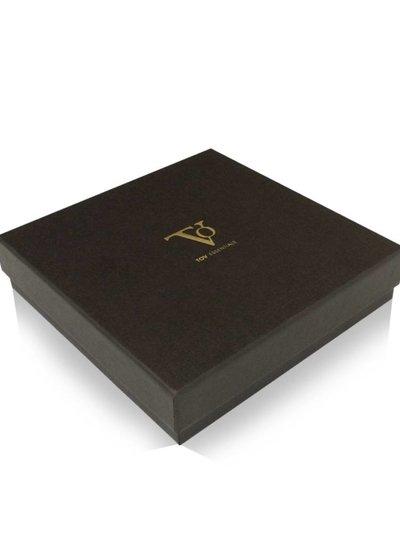 Flat gourmet collier - Wit Goud