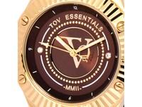 Arabian sea delight bruin/goud horloge