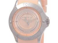 Tropical beach steel horloge