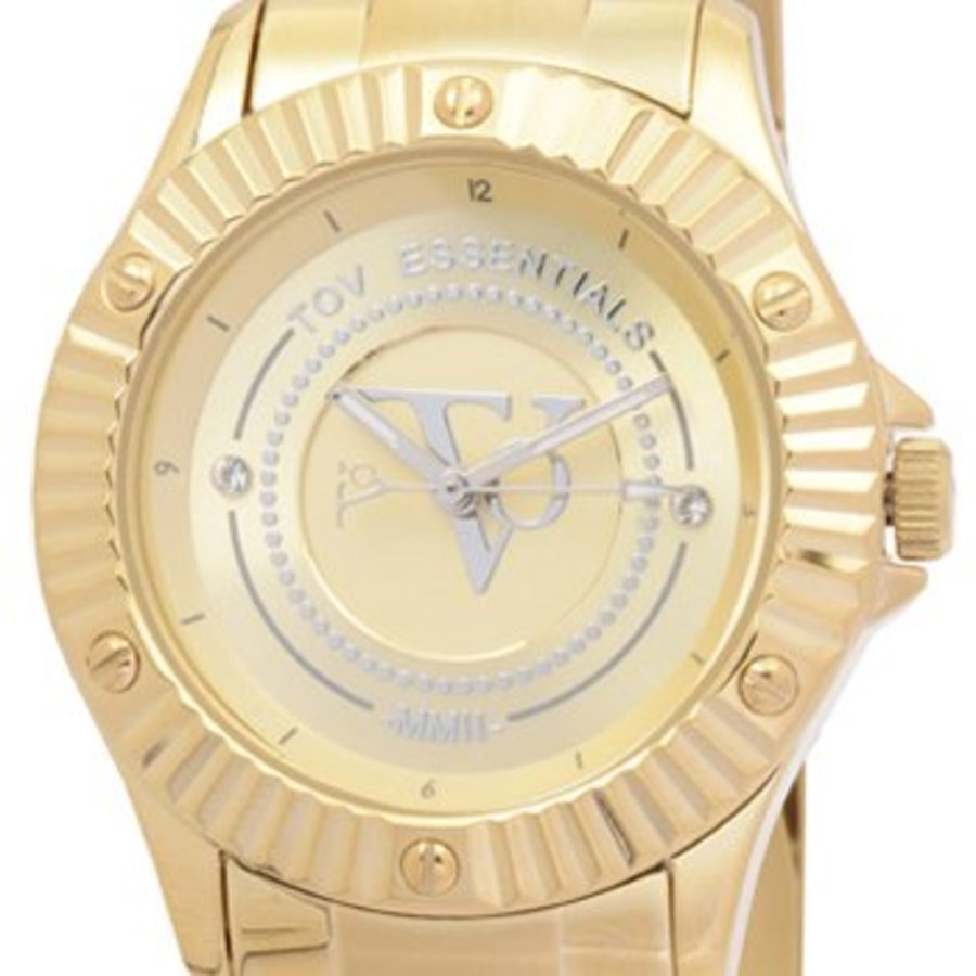 Golden sun goud horloge