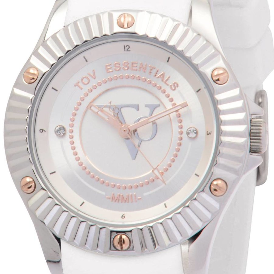 White Beach - Steel - Horloge