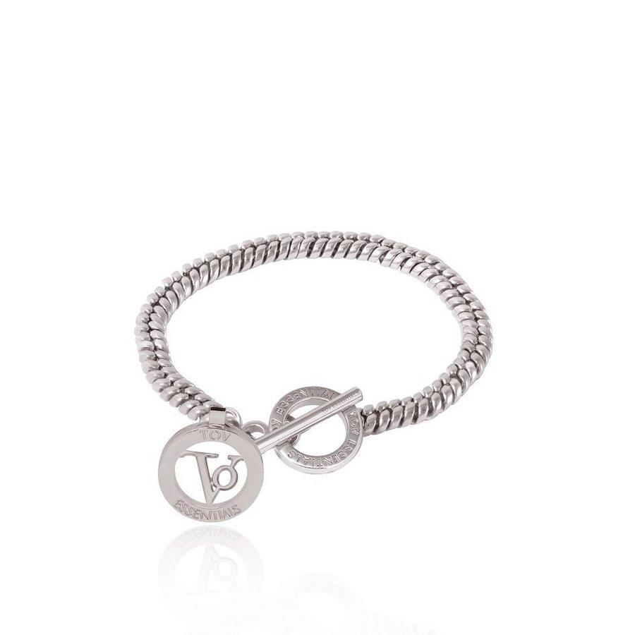Special chain bracelet - White Gold