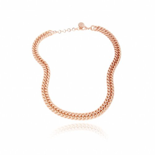 mini mermaid collier - Goud