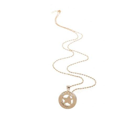 85 cm ketting met ster pendant